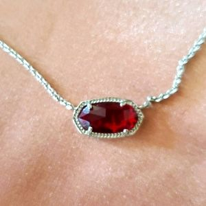 New without Tags Kendra Scott Elisa Ruby Red
